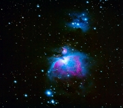 OrionNebel (M42) und Running Man